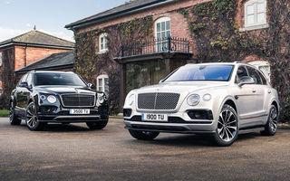 Versiuni noi pentru Bentley Bentayga: SUV-ul producătorului britanic va fi disponibil în variante cu patru sau șapte locuri