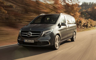 Mercedes-Benz Clasa V facelift va fi disponibil cu sistemul de infotainment MBUX: comenzile încep în luna decembrie