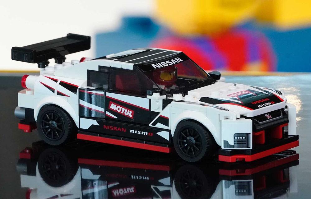 Nissan GT-R Nismo este oferit și în versiune Lego: pachetul conține 298 de piese și va fi disponibil din 2020 - Poza 1