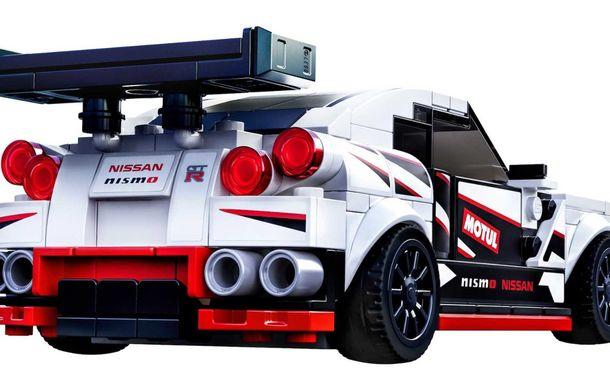 Nissan GT-R Nismo este oferit și în versiune Lego: pachetul conține 298 de piese și va fi disponibil din 2020 - Poza 5