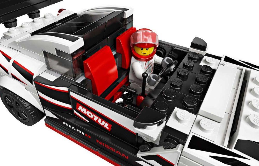 Nissan GT-R Nismo este oferit și în versiune Lego: pachetul conține 298 de piese și va fi disponibil din 2020 - Poza 6