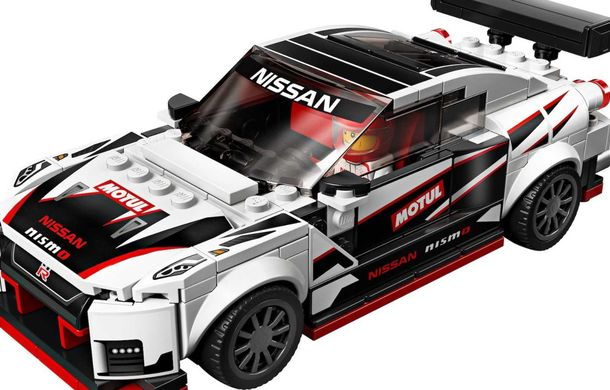 Nissan GT-R Nismo este oferit și în versiune Lego: pachetul conține 298 de piese și va fi disponibil din 2020 - Poza 3