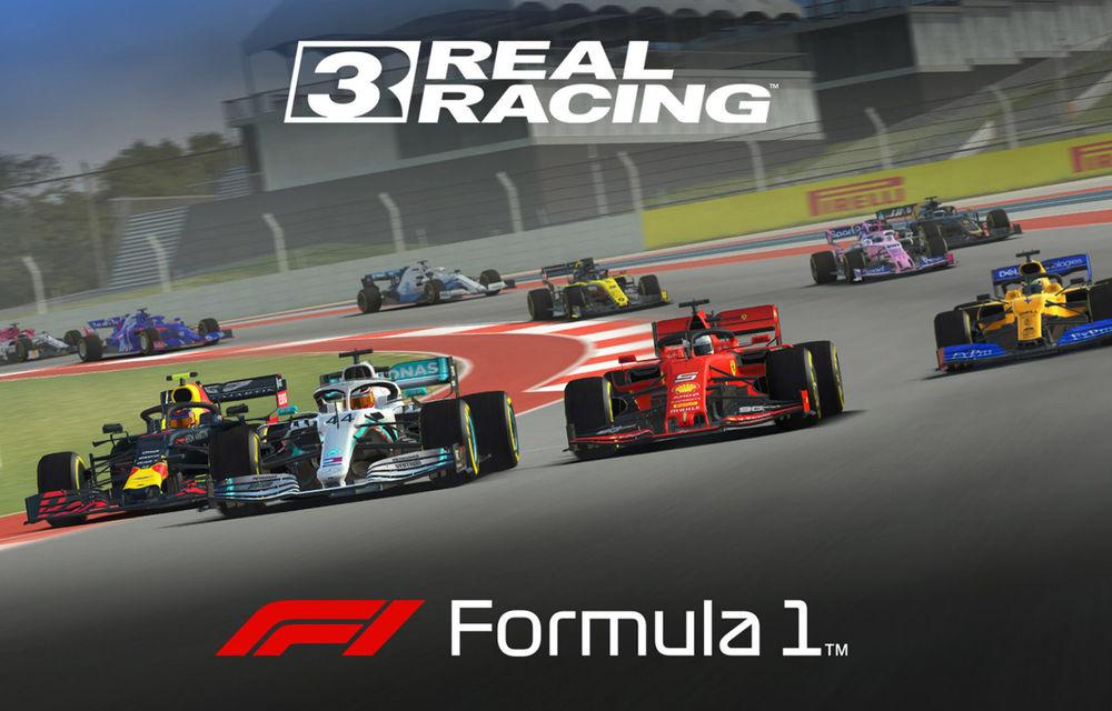 Real Racing 3 a primit un update dedicat Formulei 1: jocul de curse include toți piloții și cinci circuite din calendarul competițional - Poza 1