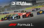 Real Racing 3 a primit un update dedicat Formulei 1: jocul de curse include toți piloții și cinci circuite din calendarul competițional