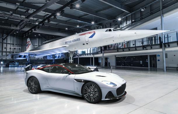 Aston Martin DBS Superleggera Concorde: ediție specială care marchează 50 de ani de la primul zbor al supersonicului de pasageri - Poza 1