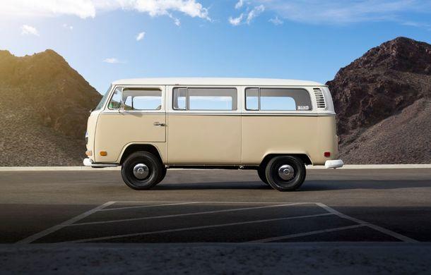 Un Volkswagen Type 2 din 1972 a fost transformat în vehicul electric: motor de 136 de cai putere și autonomie de 200 de kilometri - Poza 6