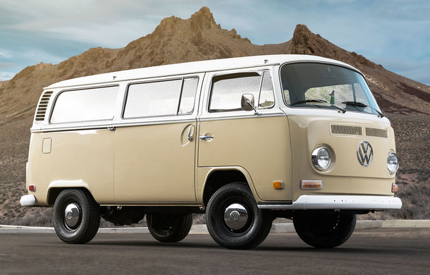 Un Volkswagen Type 2 din 1972 a fost transformat în vehicul electric: motor de 136 de cai putere și autonomie de 200 de kilometri - Poza 1