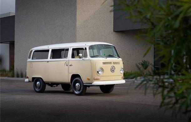 Un Volkswagen Type 2 din 1972 a fost transformat în vehicul electric: motor de 136 de cai putere și autonomie de 200 de kilometri - Poza 2
