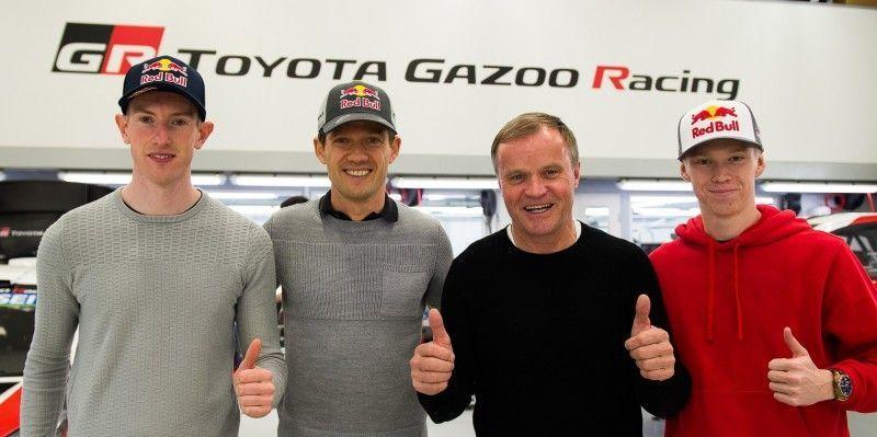Sebastien Ogier semnează cu Toyota pentru sezonul 2020 al Campionatului Mondial de Raliuri: Elfyn Evans și Kalle Rovanpera completează echipa niponă - Poza 4