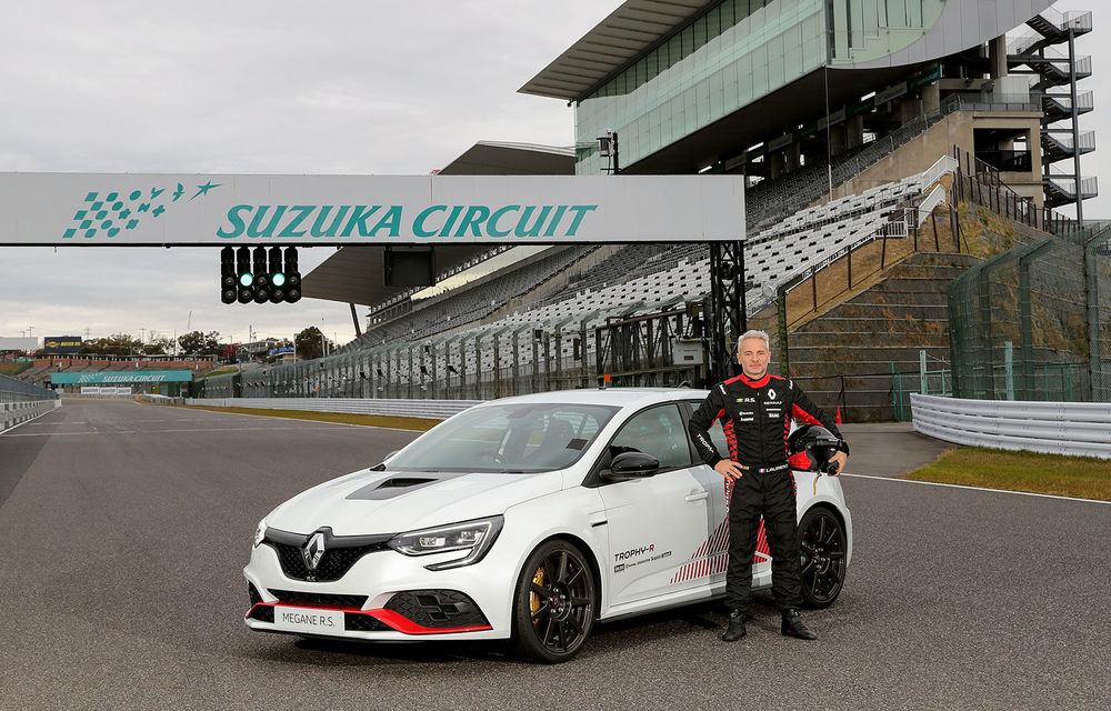 Renault Megane RS Trophy-R cucerește circuitul de la Suzuka: Hot Hatch-ul francez a devenit cel mai rapid model de serie cu roți motrice față de pe circuitul nipon - Poza 3