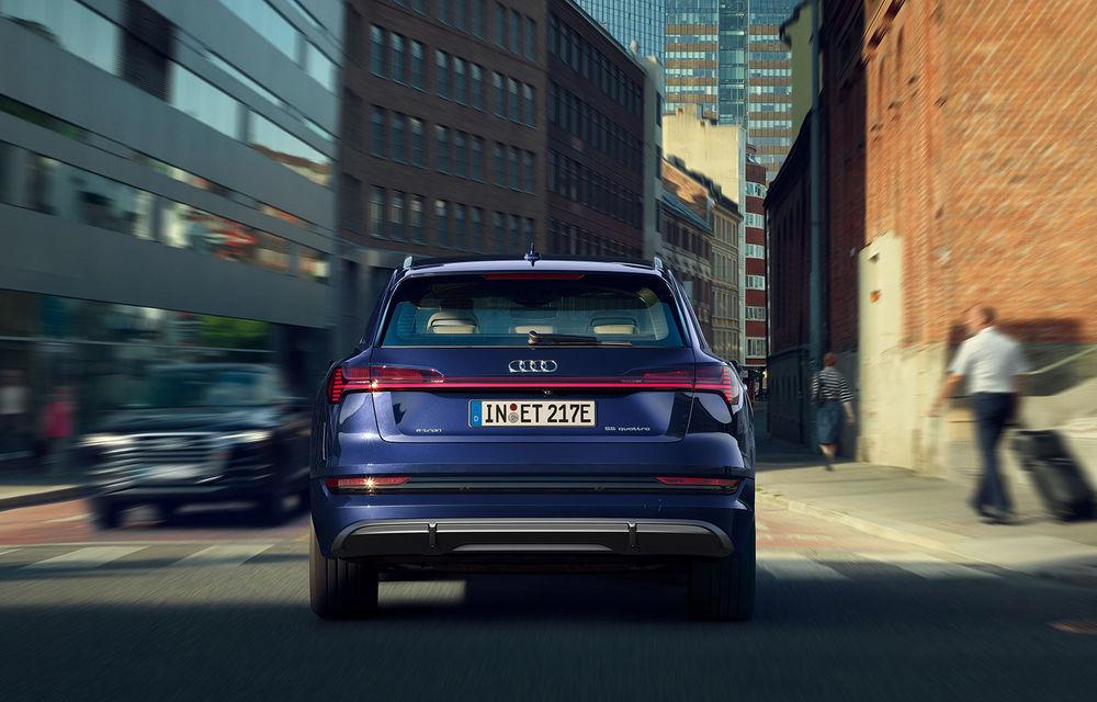 Îmbunătățiri pentru SUV-ul electric Audi e-tron: autonomie mai mare și pachet exterior S Line - Poza 3