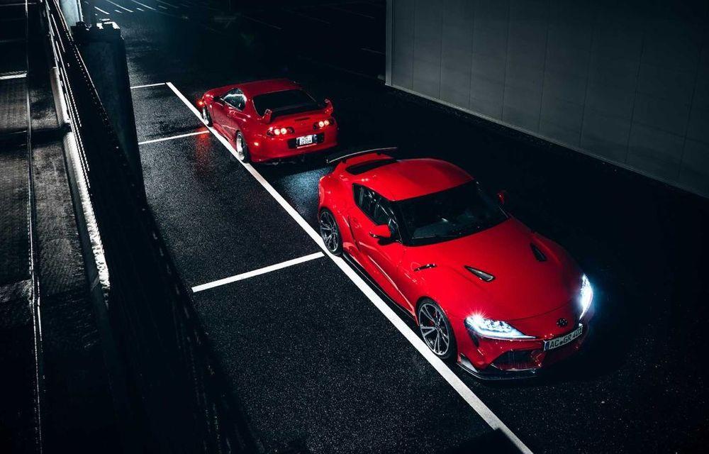 Toyota Supra primește un pachet de performanță din partea AC Schnitzer: 400 CP și 600 Nm pentru sportiva niponă - Poza 8