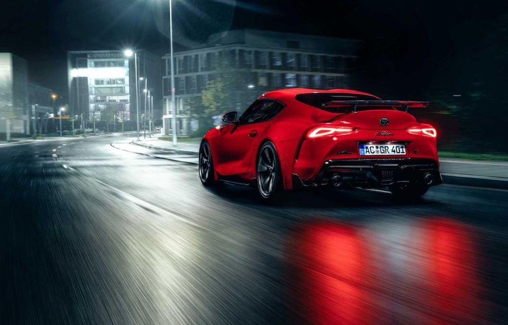 Toyota Supra primește un pachet de performanță din partea AC Schnitzer: 400 CP și 600 Nm pentru sportiva niponă - Poza 10