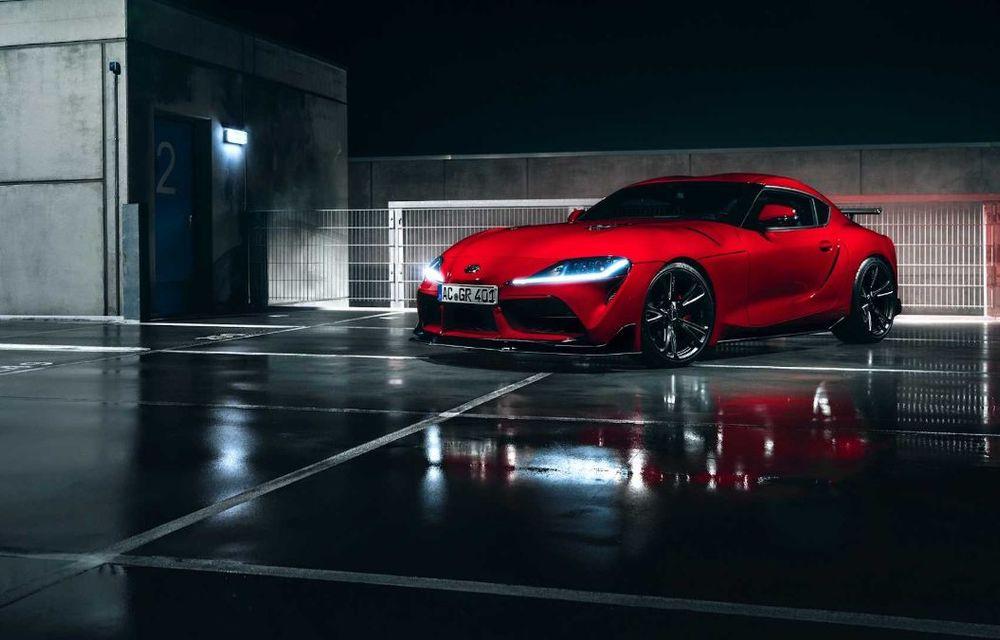 Toyota Supra primește un pachet de performanță din partea AC Schnitzer: 400 CP și 600 Nm pentru sportiva niponă - Poza 6