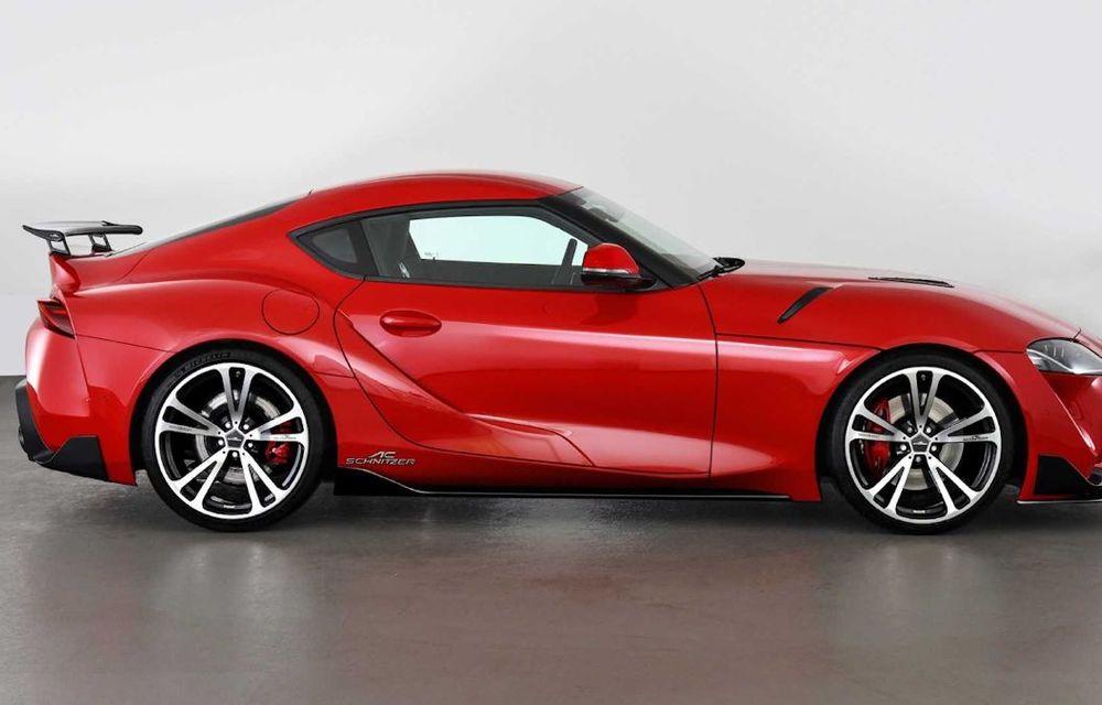 Toyota Supra primește un pachet de performanță din partea AC Schnitzer: 400 CP și 600 Nm pentru sportiva niponă - Poza 3
