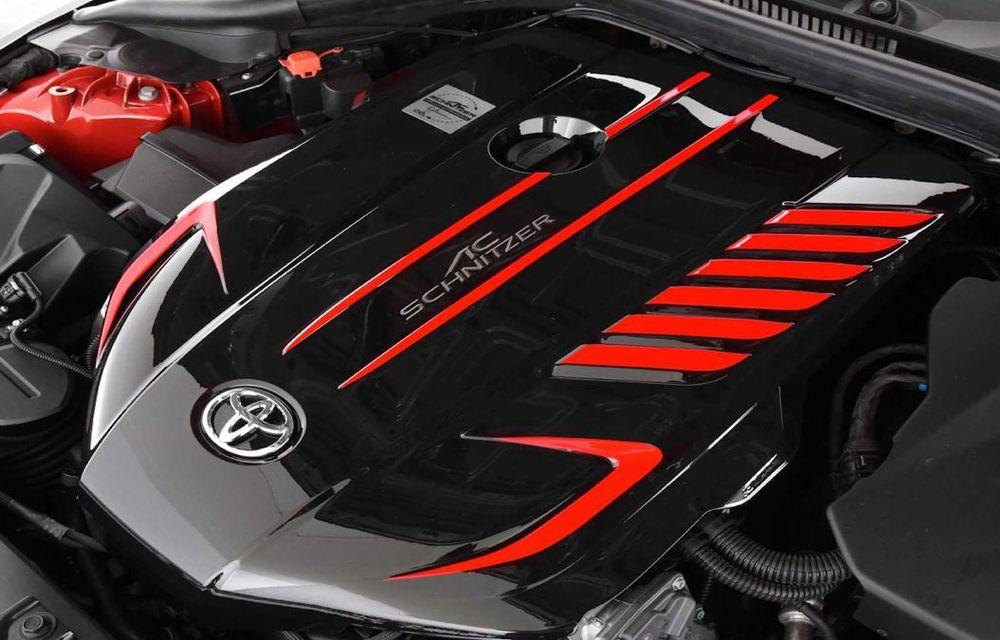 Toyota Supra primește un pachet de performanță din partea AC Schnitzer: 400 CP și 600 Nm pentru sportiva niponă - Poza 12