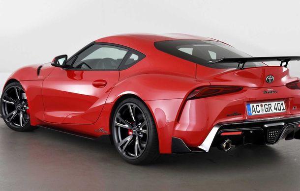 Toyota Supra primește un pachet de performanță din partea AC Schnitzer: 400 CP și 600 Nm pentru sportiva niponă - Poza 5