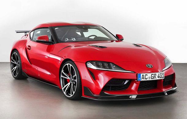 Toyota Supra primește un pachet de performanță din partea AC Schnitzer: 400 CP și 600 Nm pentru sportiva niponă - Poza 1