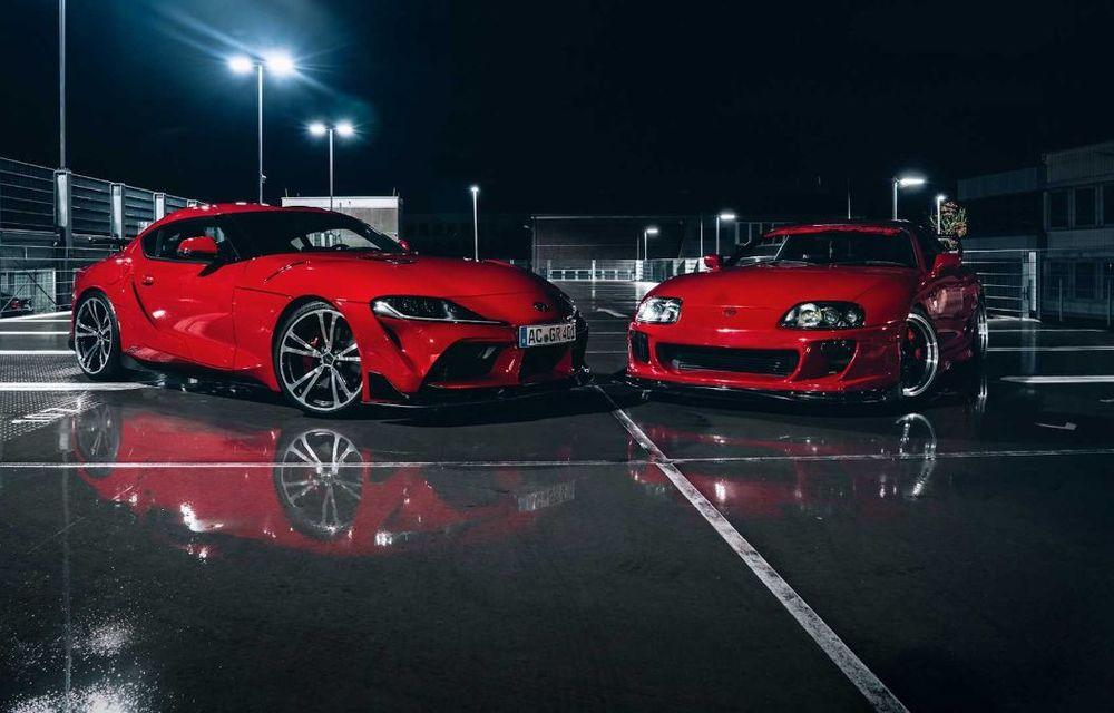 Toyota Supra primește un pachet de performanță din partea AC Schnitzer: 400 CP și 600 Nm pentru sportiva niponă - Poza 9