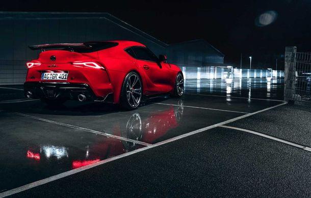 Toyota Supra primește un pachet de performanță din partea AC Schnitzer: 400 CP și 600 Nm pentru sportiva niponă - Poza 11