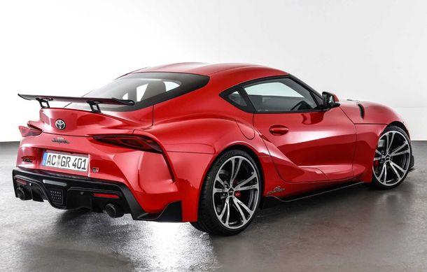 Toyota Supra primește un pachet de performanță din partea AC Schnitzer: 400 CP și 600 Nm pentru sportiva niponă - Poza 4