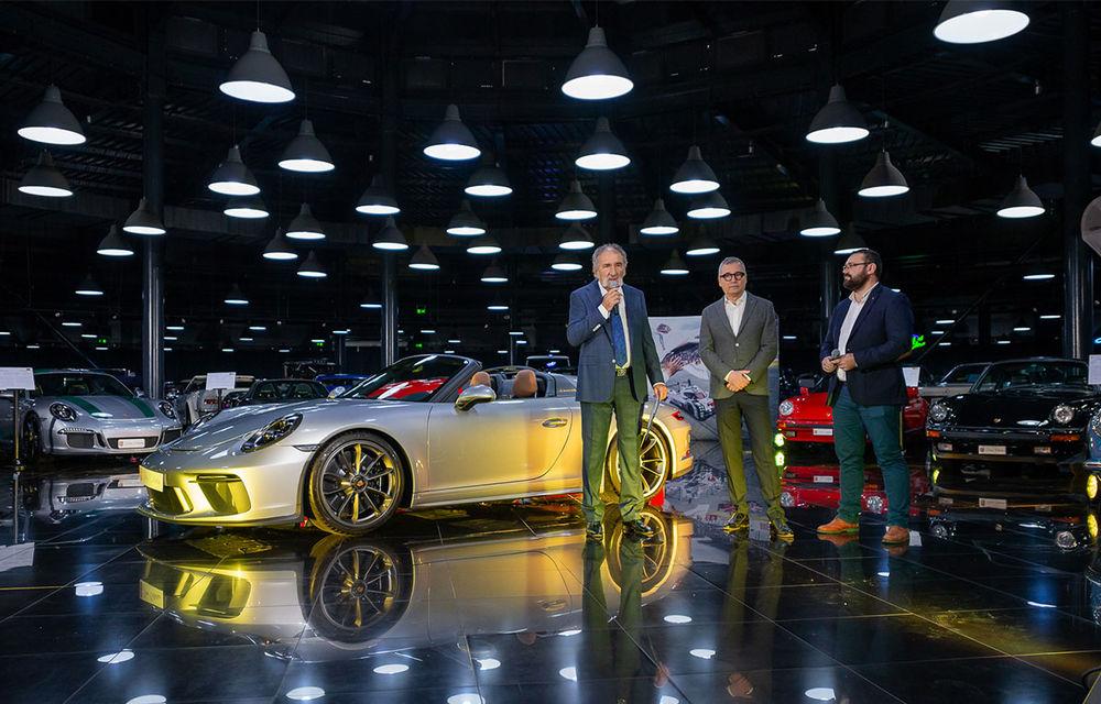 Țiriac Collection s-a îmbogățit cu două exemplare ale ediției limitate Porsche 911 Speedster - Poza 4