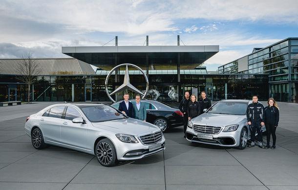 Aniversare pentru actuala generație Mercedes-Benz Clasa S: 500.000 de unități produse începând cu 2013 - Poza 1