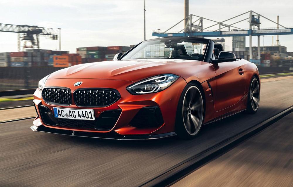 Noul BMW Z4 a fost modificat de AC Schnitzer: motorul de 3.0 litri dezvoltă acum 400 CP - Poza 1