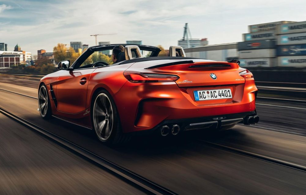 Noul BMW Z4 a fost modificat de AC Schnitzer: motorul de 3.0 litri dezvoltă acum 400 CP - Poza 3
