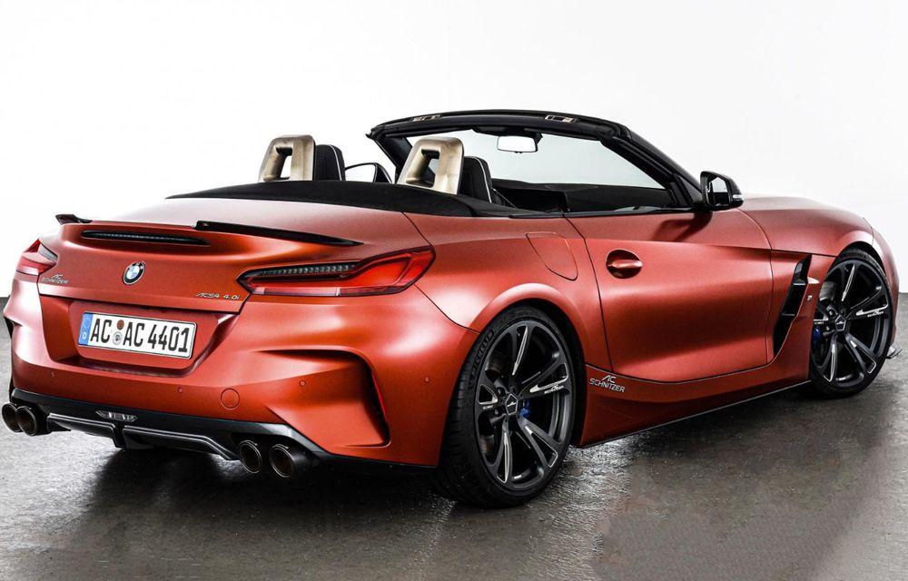 Noul BMW Z4 a fost modificat de AC Schnitzer: motorul de 3.0 litri dezvoltă acum 400 CP - Poza 4