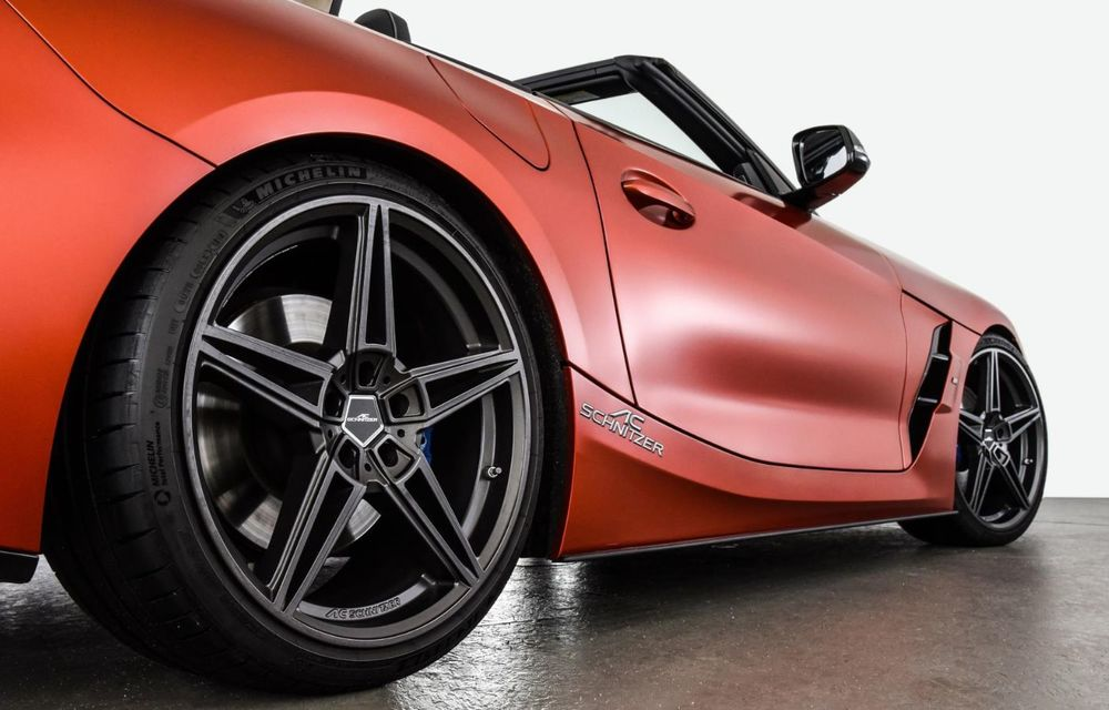Noul BMW Z4 a fost modificat de AC Schnitzer: motorul de 3.0 litri dezvoltă acum 400 CP - Poza 7