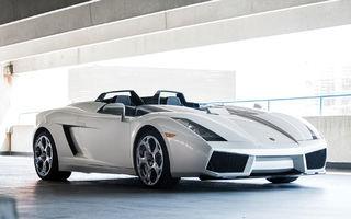 Unicul Lamborghini Concept S va fi scos la licitație: prețul estimat de specialiști trece de 1.2 milioane de euro