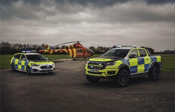 Pentru urmăriri în off-road: pick-up-ul sport Ford Ranger Raptor intră în flota poliției din Marea Britanie - Poza 18