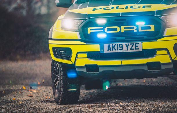 Pentru urmăriri în off-road: pick-up-ul sport Ford Ranger Raptor intră în flota poliției din Marea Britanie - Poza 5