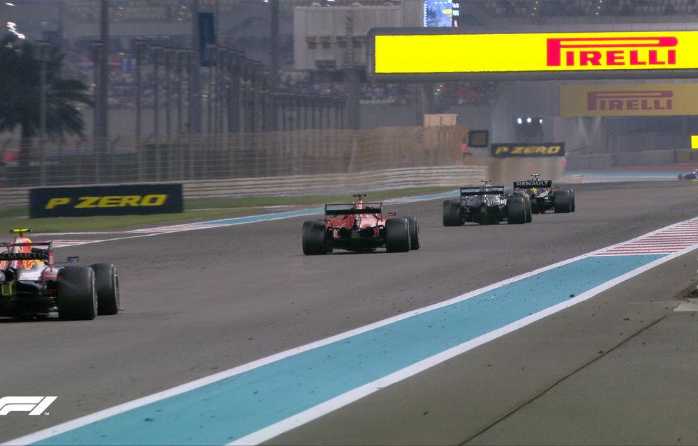 Hamilton încheie sezonul 2019 al Formulei 1 cu o victorie la Abu Dhabi! Verstappen și Leclerc completează podiumul - Poza 4