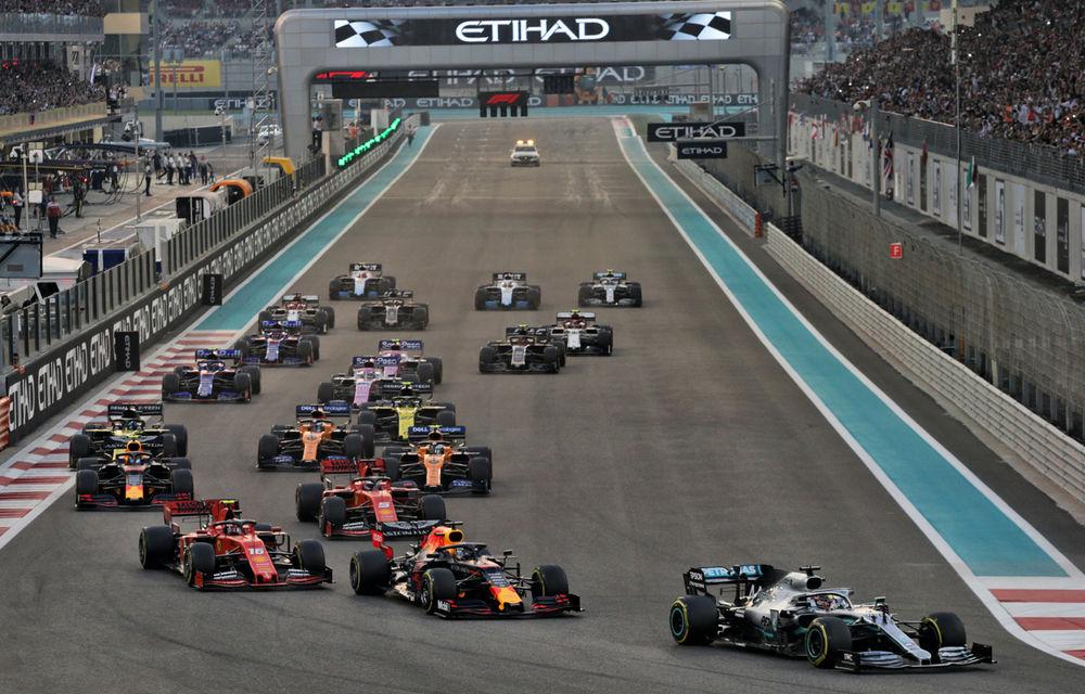 Hamilton încheie sezonul 2019 al Formulei 1 cu o victorie la Abu Dhabi! Verstappen și Leclerc completează podiumul - Poza 1