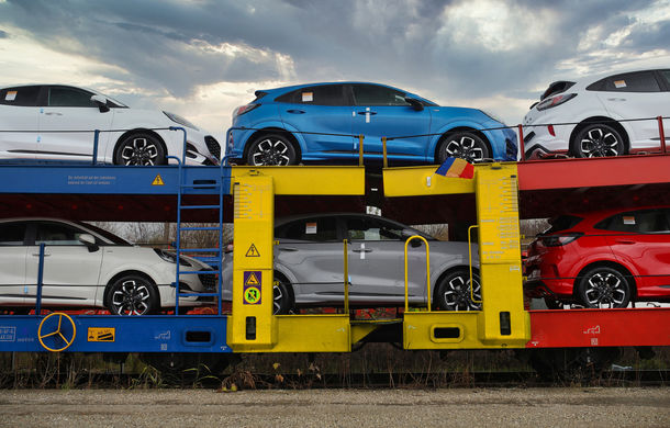 Ford a început să exporte SUV-ul Puma produs la Craiova: primele 300 de unități vor ajunge cu trenul în Olanda - Poza 1