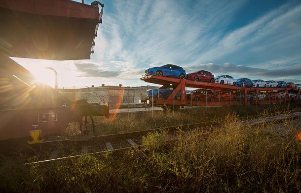 Ford a început să exporte SUV-ul Puma produs la Craiova: primele 300 de unități vor ajunge cu trenul în Olanda - Poza 2