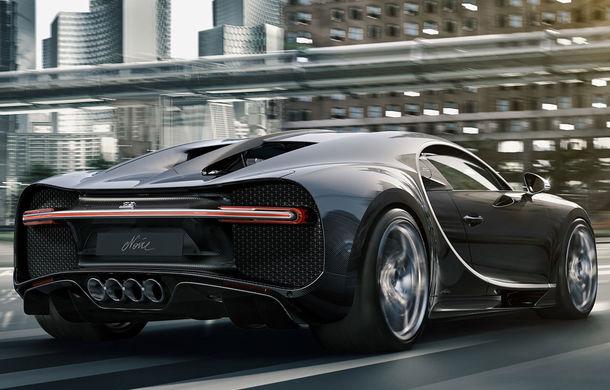 Versiuni noi pentru Bugatti Chiron: Noire Sportive și Noire Elegance vor fi disponibile în doar 20 de unități - Poza 2