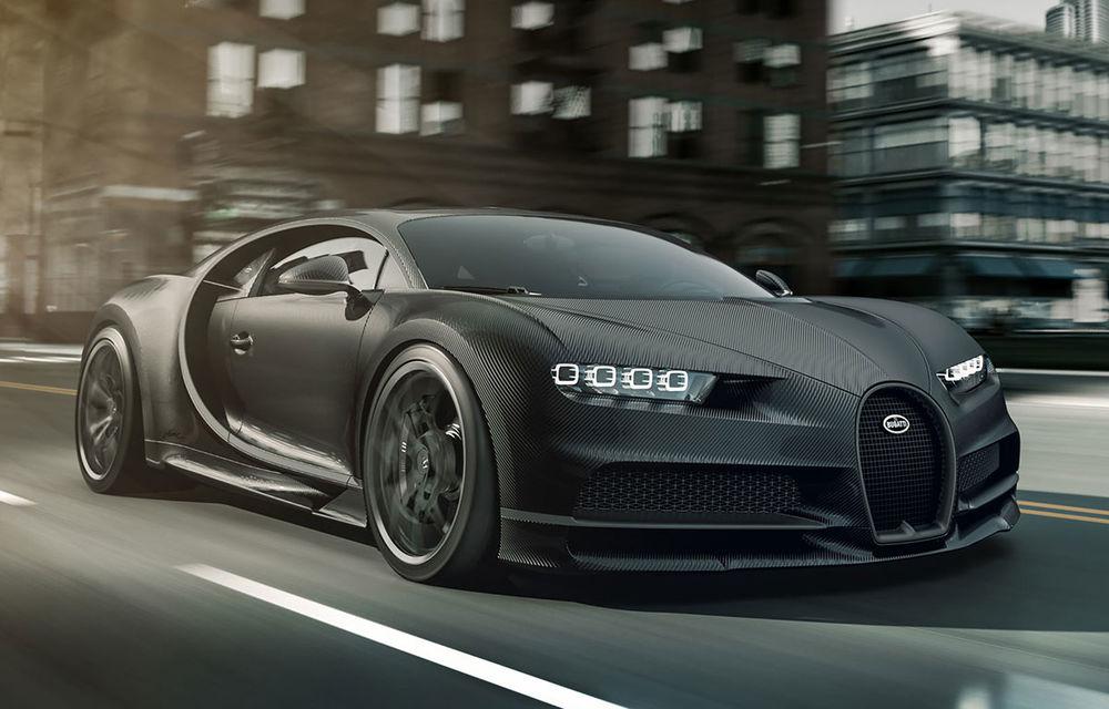 Versiuni noi pentru Bugatti Chiron: Noire Sportive și Noire Elegance vor fi disponibile în doar 20 de unități - Poza 1