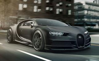 Versiuni noi pentru Bugatti Chiron: Noire Sportive și Noire Elegance vor fi disponibile în doar 20 de unități