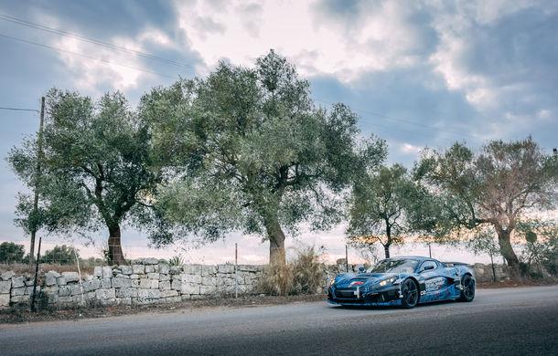 Hypercar-ul electric Rimac C_Two, testat la Centrul Tehnic Nardo deținut de Porsche: versiunea de serie va fi prezentată în martie - Poza 2