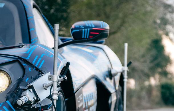 Hypercar-ul electric Rimac C_Two, testat la Centrul Tehnic Nardo deținut de Porsche: versiunea de serie va fi prezentată în martie - Poza 4