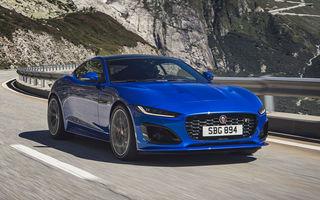 Îmbunătățiri pentru Jaguar F-Type: design modificat, instrumentar digital de bord și un V8 nou cu 450 CP