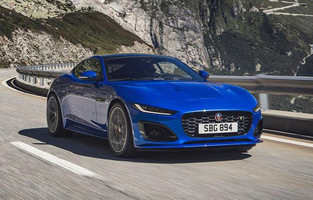 Îmbunătățiri pentru Jaguar F-Type: design modificat, instrumentar digital de bord și un V8 nou cu 450 CP - Poza 1