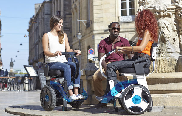 Renault se implică în dezvoltarea unui mijloc de transport electric pentru persoane cu dizabilități - Poza 1