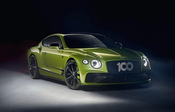 Bentley lansează o ediție specială Continental GT pentru a celebra recordul de la Pikes Peak: britanicii vor produce doar 15 exemplare - Poza 2