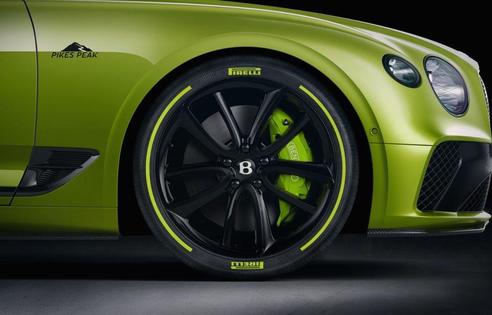 Bentley lansează o ediție specială Continental GT pentru a celebra recordul de la Pikes Peak: britanicii vor produce doar 15 exemplare - Poza 4