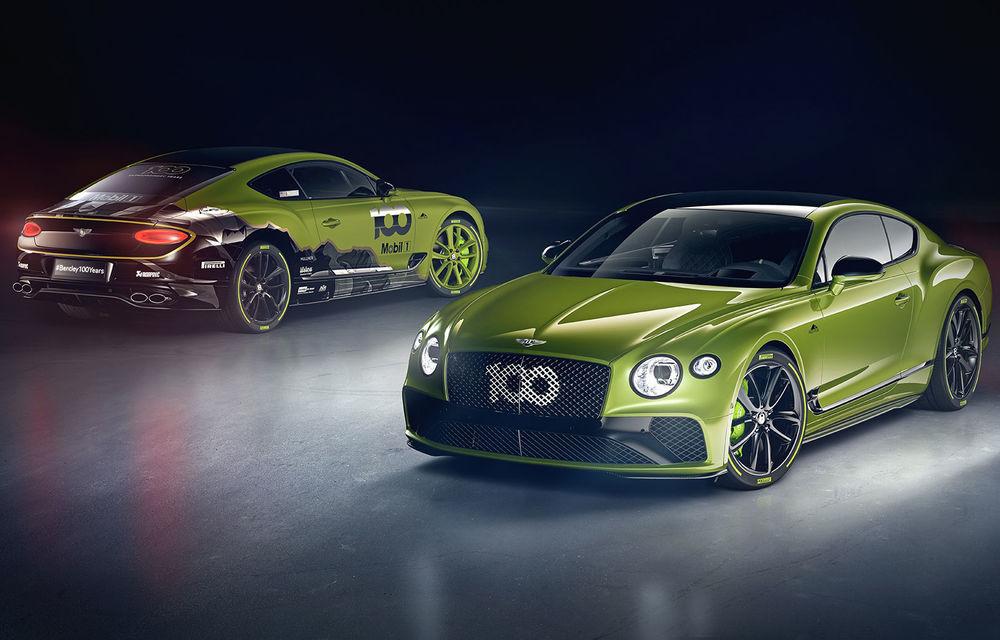 Bentley lansează o ediție specială Continental GT pentru a celebra recordul de la Pikes Peak: britanicii vor produce doar 15 exemplare - Poza 1