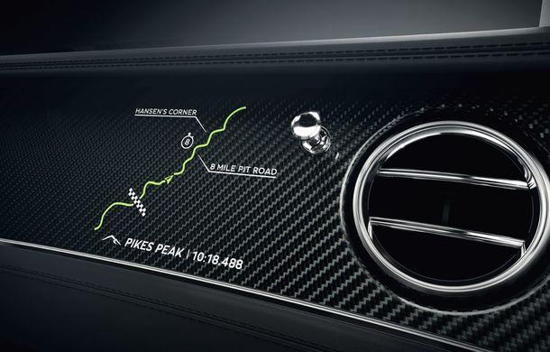 Bentley lansează o ediție specială Continental GT pentru a celebra recordul de la Pikes Peak: britanicii vor produce doar 15 exemplare - Poza 9